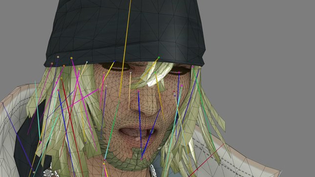 Final Fantasy XIII Hair Rig