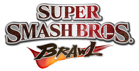Super Smash Bros Brawl Title Logo